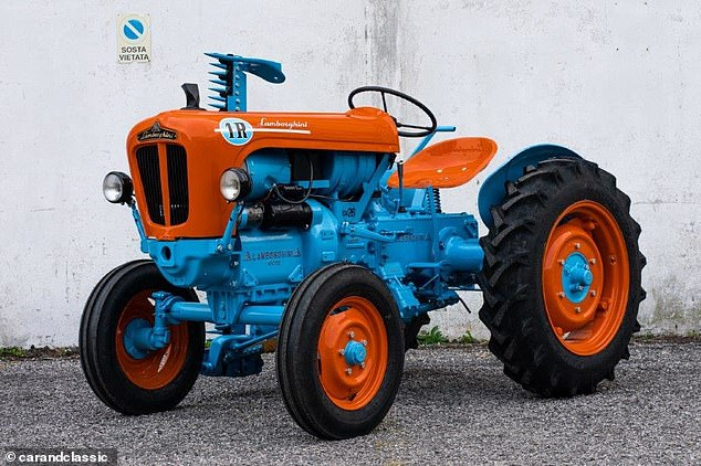 1964 1r Model Tractor Made By Supercar Manufacturer Lamborghini Goes On Sale For 15 000 Tech Readsector